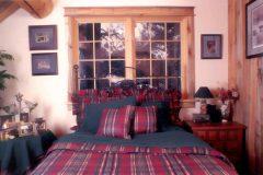 Horn chink style log Laramie Wyoming custom home builder handcrafted details (5) - Deerwood Log Homes - Custom Built Homes and Cabins - Laramie, Wyoming and The Centennial Valley - deer-wood.com - (307) 742-6554