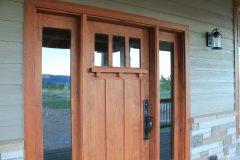 Sper conventional hybrid timber frame accents Centennial Wyoming custom home builder (11) - Deerwood Log Homes - Custom Built Homes and Cabins - Laramie, Wyoming and The Centennial Valley - deer-wood.com - (307) 742-6554