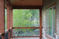 Sper conventional hybrid timber frame accents Centennial Wyoming custom home builder (12) - Deerwood Log Homes - Custom Built Homes and Cabins - Laramie, Wyoming and The Centennial Valley - deer-wood.com - (307) 742-6554