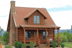 Fish Hand hewn dovetail log Centennial Wyoming custom home builder handcrafted details (2) - Deerwood Log Homes - Custom Built Homes and Cabins - Laramie, Wyoming and The Centennial Valley - deer-wood.com - (307) 742-6554