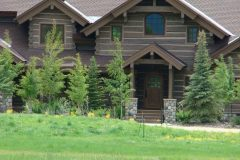 Sand Hand hewn dovetail log Steamboat Springs Colorado custom home builder handcrafted (3) - Deerwood Log Homes - Custom Built Homes and Cabins - Laramie, Wyoming and The Centennial Valley - deer-wood.com - (307) 742-6554
