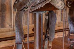 BuckBunk log timber frame post & beam hybrid Centennial Wyoming custom home builder (46) - Deerwood Log Homes - Custom Built Homes and Cabins - Laramie, Wyoming and The Centennial Valley - deer-wood.com - (307) 742-6554