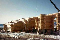 Burt Swedish cope log Centennial Wyoming custom home builder handcrafted details (12) - Deerwood Log Homes - Custom Built Homes and Cabins - Laramie, Wyoming and The Centennial Valley - deer-wood.com - (307) 742-6554
