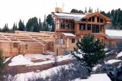 Burt Swedish cope log Centennial Wyoming custom home builder handcrafted details (15) - Deerwood Log Homes - Custom Built Homes and Cabins - Laramie, Wyoming and The Centennial Valley - deer-wood.com - (307) 742-6554