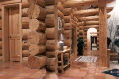 Burt Swedish cope log Centennial Wyoming custom home builder handcrafted details (8) - Deerwood Log Homes - Custom Built Homes and Cabins - Laramie, Wyoming and The Centennial Valley - deer-wood.com - (307) 742-6554