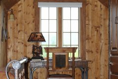 Fish Hand hewn dovetail log Centennial Wyoming custom home builder handcrafted details (6) - Deerwood Log Homes - Custom Built Homes and Cabins - Laramie, Wyoming and The Centennial Valley - deer-wood.com - (307) 742-6554