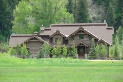 Sand Hand hewn dovetail log Steamboat Springs Colorado custom home builder handcrafted (2) - Deerwood Log Homes - Custom Built Homes and Cabins - Laramie, Wyoming and The Centennial Valley - deer-wood.com - (307) 742-6554