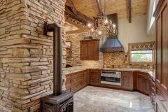 BuckMain renovation remodel log accents Centennial Wyoming custom home builder (6) - Deerwood Log Homes - Custom Built Homes and Cabins - Laramie, Wyoming and The Centennial Valley - deer-wood.com - (307) 742-6554