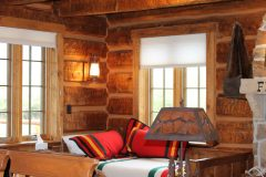 Fish Hand hewn dovetail log Centennial Wyoming custom home builder handcrafted details (5) - Deerwood Log Homes - Custom Built Homes and Cabins - Laramie, Wyoming and The Centennial Valley - deer-wood.com - (307) 742-6554