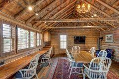 BuckStudio renovation remodel log accents Albany Wyoming custom home builder (2) - Deerwood Log Homes - Custom Built Homes and Cabins - Laramie, Wyoming and The Centennial Valley - deer-wood.com - (307) 742-6554