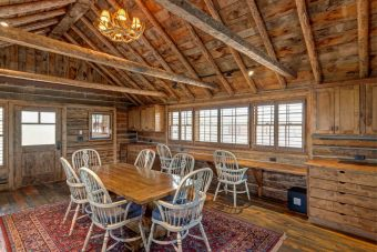 BuckStudio renovation remodel log accents Albany Wyoming custom home builder (3) - Deerwood Log Homes - Custom Built Homes and Cabins - Laramie, Wyoming and The Centennial Valley - deer-wood.com - (307) 742-6554