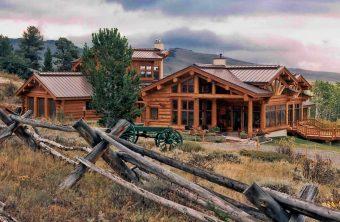 Burt Swedish cope log Centennial Wyoming custom home builder handcrafted details (4) - Deerwood Log Homes - Custom Built Homes and Cabins - Laramie, Wyoming and The Centennial Valley - deer-wood.com - (307) 742-6554