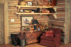 List Swedish cope log Laramie Wyoming custom home builder handcrafted details (14) - Deerwood Log Homes - Custom Built Homes and Cabins - Laramie, Wyoming and The Centennial Valley - deer-wood.com - (307) 742-6554