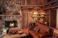 List Swedish cope log Laramie Wyoming custom home builder handcrafted details (15) - Deerwood Log Homes - Custom Built Homes and Cabins - Laramie, Wyoming and The Centennial Valley - deer-wood.com - (307) 742-6554