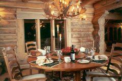 List Swedish cope log Laramie Wyoming custom home builder handcrafted details (3) - Deerwood Log Homes - Custom Built Homes and Cabins - Laramie, Wyoming and The Centennial Valley - deer-wood.com - (307) 742-6554