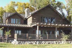 List Swedish cope log Laramie Wyoming custom home builder handcrafted details (6) - Deerwood Log Homes - Custom Built Homes and Cabins - Laramie, Wyoming and The Centennial Valley - deer-wood.com - (307) 742-6554