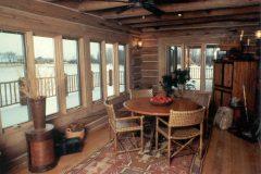List Swedish cope log Laramie Wyoming custom home builder handcrafted details (8) - Deerwood Log Homes - Custom Built Homes and Cabins - Laramie, Wyoming and The Centennial Valley - deer-wood.com - (307) 742-6554