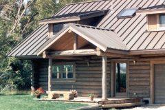 McGil Swedish cope log Laramie Wyoming custom home builder handcrafted details (1) - Deerwood Log Homes - Custom Built Homes and Cabins - Laramie, Wyoming and The Centennial Valley - deer-wood.com - (307) 742-6554