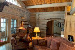Smi-Perk Swedish cope log Laramie Wyoming custom home builder handcrafted (1) - Deerwood Log Homes - Custom Built Homes and Cabins - Laramie, Wyoming and The Centennial Valley - deer-wood.com - (307) 742-6554