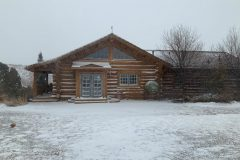 Smi-Perk Swedish cope log Laramie Wyoming custom home builder handcrafted (3) - Deerwood Log Homes - Custom Built Homes and Cabins - Laramie, Wyoming and The Centennial Valley - deer-wood.com - (307) 742-6554