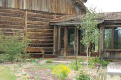 Lets hand hewn log timber frame post & beam hybrid Centennial Wyoming custom home builder (10) - Deerwood Log Homes - Custom Built Homes and Cabins - Laramie, Wyoming and The Centennial Valley - deer-wood.com - (307) 742-6554