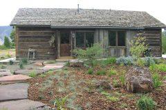 Lets hand hewn log timber frame post & beam hybrid Centennial Wyoming custom home builder (13) - Deerwood Log Homes - Custom Built Homes and Cabins - Laramie, Wyoming and The Centennial Valley - deer-wood.com - (307) 742-6554