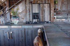 Lets hand hewn log timber frame post & beam hybrid Centennial Wyoming custom home builder (18) - Deerwood Log Homes - Custom Built Homes and Cabins - Laramie, Wyoming and The Centennial Valley - deer-wood.com - (307) 742-6554
