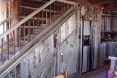 Lets hand hewn log timber frame post & beam hybrid Centennial Wyoming custom home builder (23) - Deerwood Log Homes - Custom Built Homes and Cabins - Laramie, Wyoming and The Centennial Valley - deer-wood.com - (307) 742-6554
