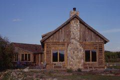 Lets hand hewn log timber frame post & beam hybrid Centennial Wyoming custom home builder (37) - Deerwood Log Homes - Custom Built Homes and Cabins - Laramie, Wyoming and The Centennial Valley - deer-wood.com - (307) 742-6554