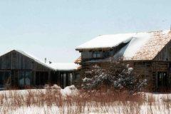 Lets hand hewn log timber frame post & beam hybrid Centennial Wyoming custom home builder (4) - Deerwood Log Homes - Custom Built Homes and Cabins - Laramie, Wyoming and The Centennial Valley - deer-wood.com - (307) 742-6554